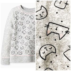 🆕 Listing! Cat & Jack Kitty Sweatshirt